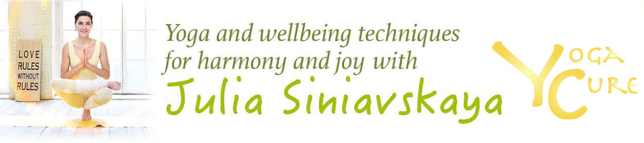 Yoga and yogatherapy with Julia Siniavskaya