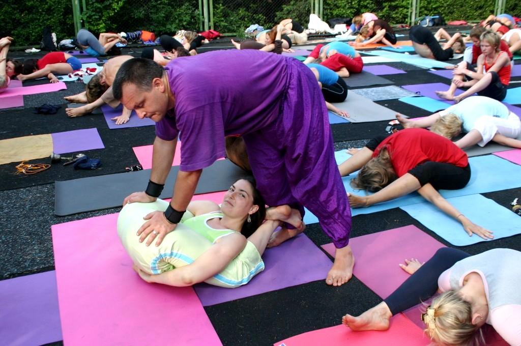 Упражнение йоги для мастер класс