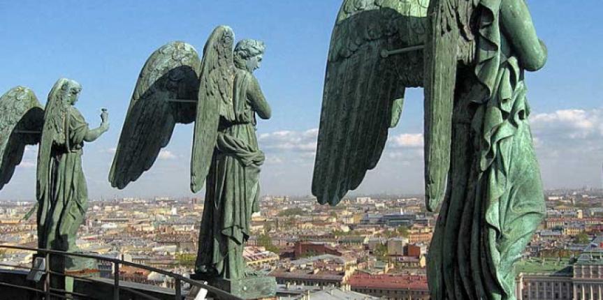 Пробы пера: Ангелы на Исакии