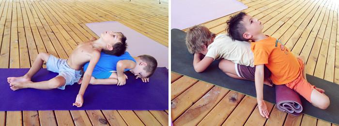 Йога ретрит в Чиралы, занятия йогой